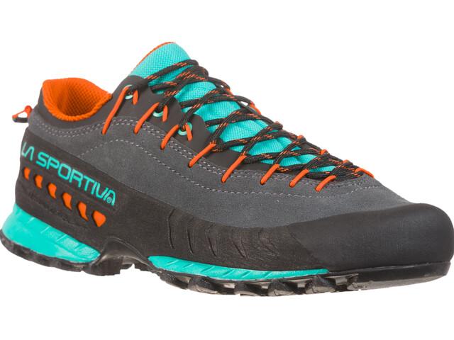 La Sportiva TX4 Kengät Naiset, carbon/aqua
